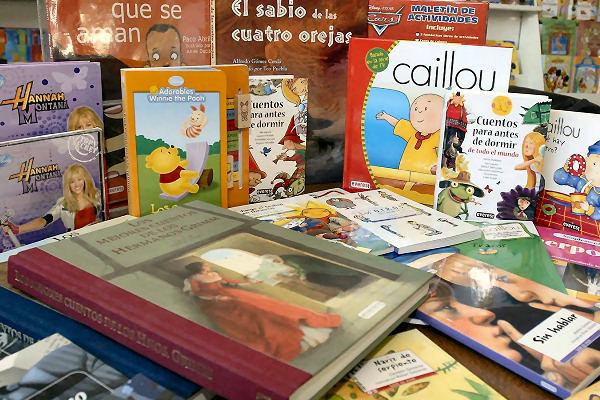 Novedades sección Infantily Juvenil de la biblioteca Sancho Panza
